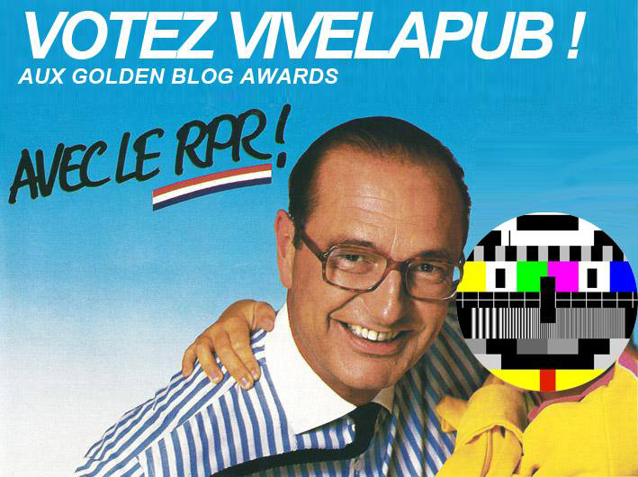 Votez VivelaPub aux Golden Blog Awards 2014 !