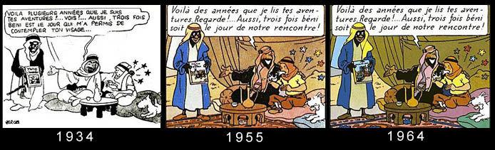 Autopromotion de Tintin dans les cigares du pharaon page 15