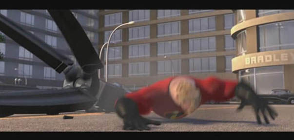 Barclay's Bank in The Incredibles