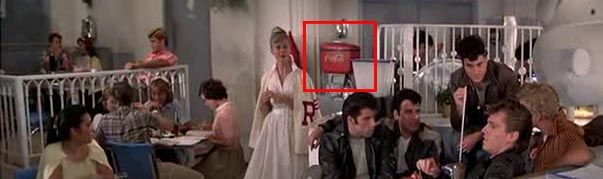 Coca Cola in Grease