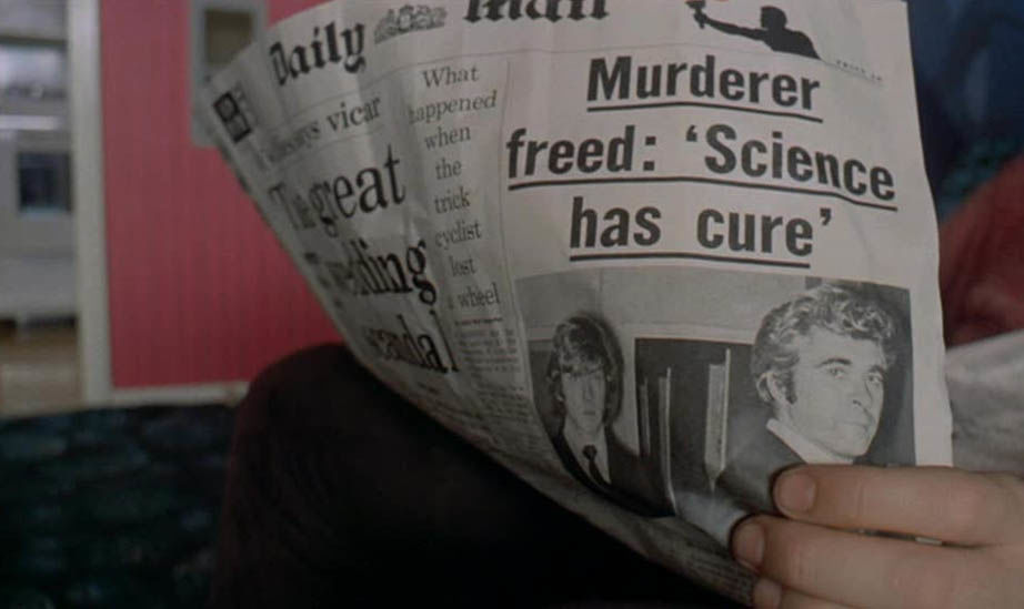 Daily Mail Clockwork Orange