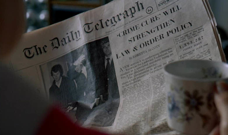Daily Telegraph Clockwork Orange