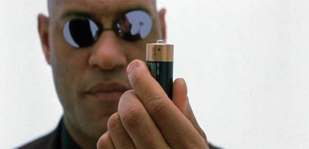 Duracel dans Matrix
