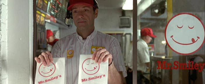 Mr smiley in American Beauty