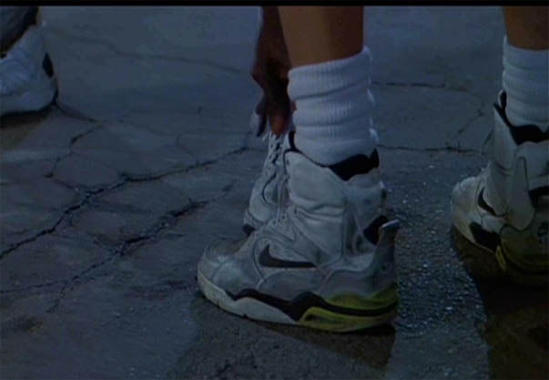 Mésusage de Nike dans Les blancs ne savent pas sauter