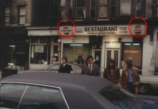 Pepsi dans Mean Streets