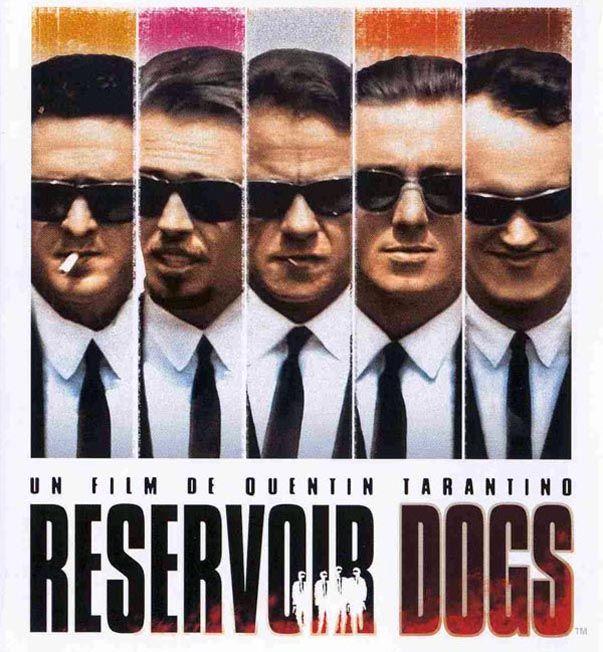 Ray-Ban sur l'affiche de Reservoir Dogs