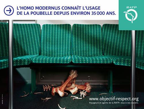 Objectif : Respect, la campagne de com de la RATP
