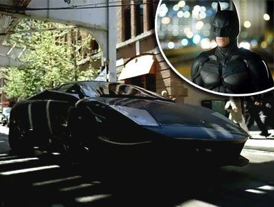 Lamborghini in The Dark Knight