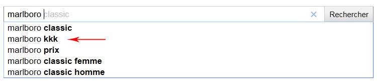 Google Marlboro kkk