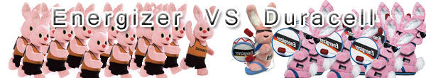 Energizer vs duracell bunny
