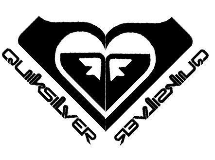logo quicksilver coeur