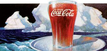 Affiche Coca-Cola 1936