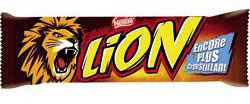 lion barre chocolat