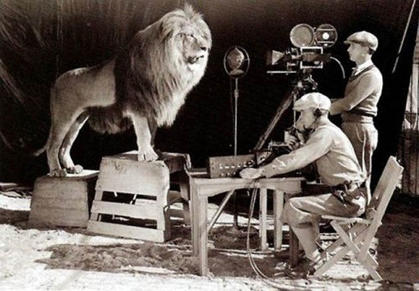 1er enregistrement du lion de la MGM en 1924