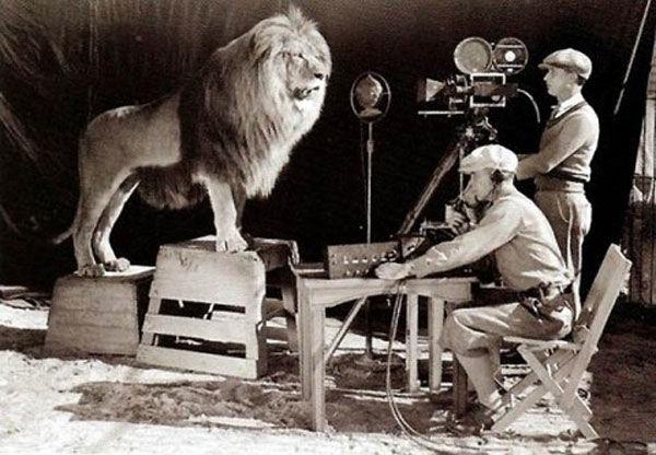 1er enregistrement du lion de la MGM en 1924