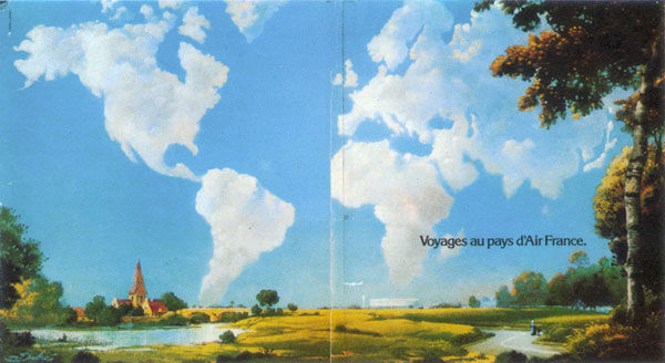air france magritte