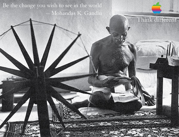 Gandhi Apple