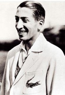 René Lacoste et le premier crocodile