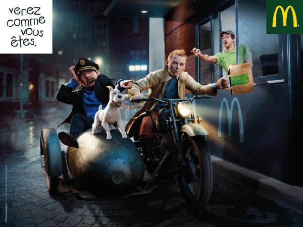 Tintin macdo