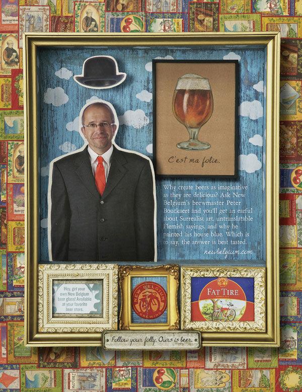 pub magritte bière belgium