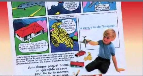 sarkozy publicité bonux 1967