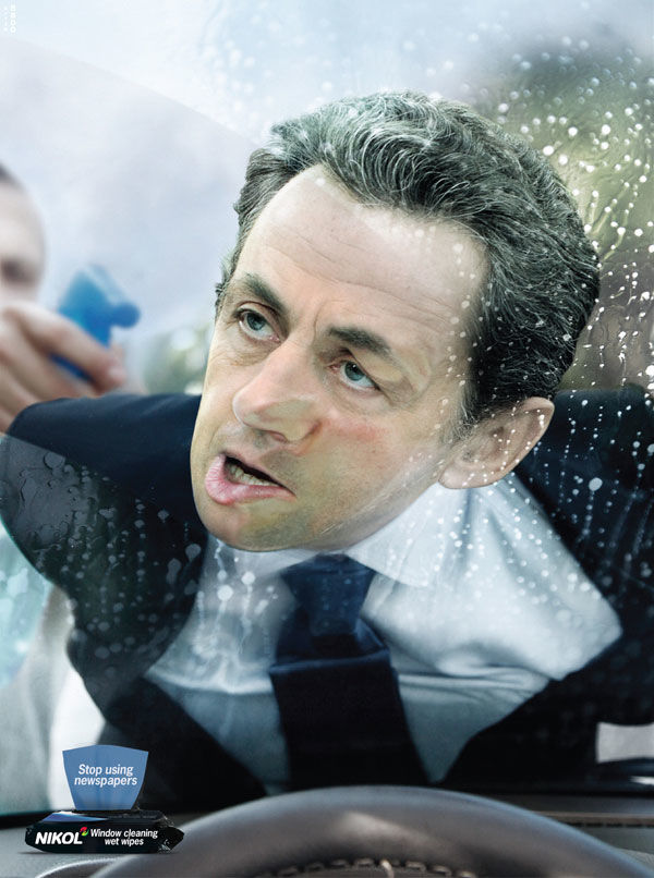 nikol window cleaning sarkozy