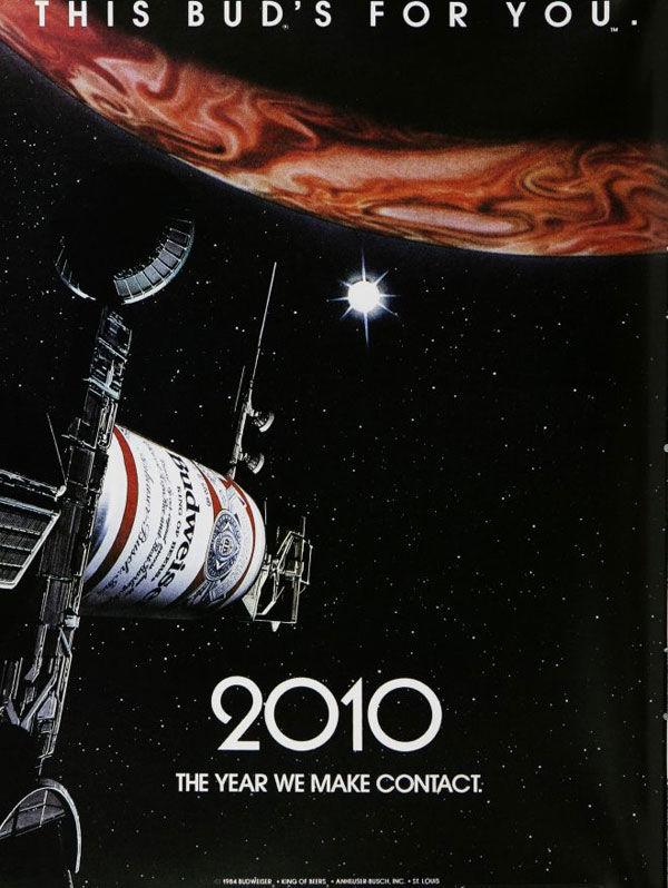 pub budweiser 2001 l'odyssée de l'espace