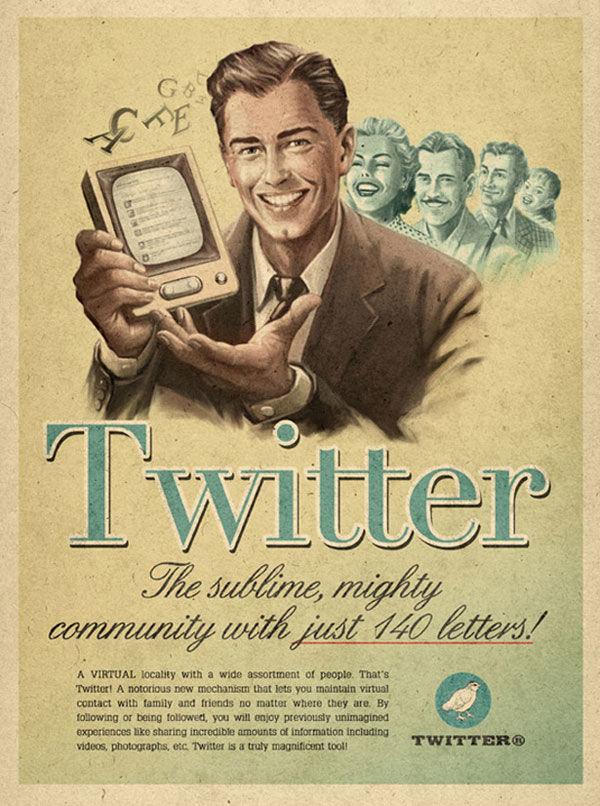 twitter  Moma Propaganda vintage