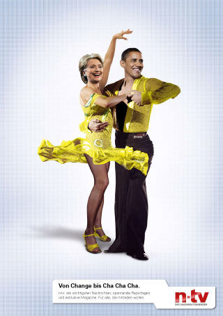 pub Barack Obama Hillary Clinton ntv