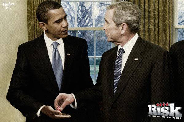 pub Barack Obama bush risk