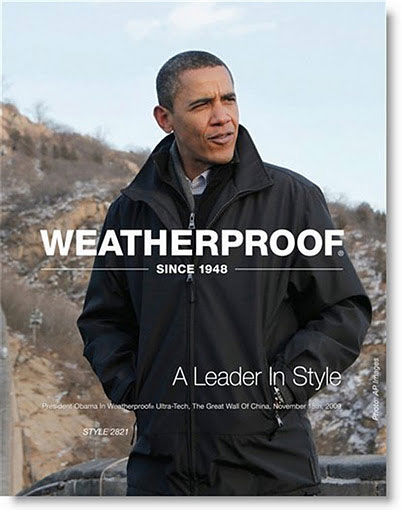 pub Barack Obama Weatherproof