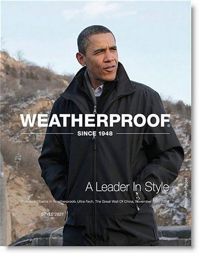 pub Barack Obama Weatherproof