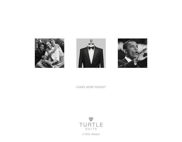 pub Barack Obama Turtle Suits