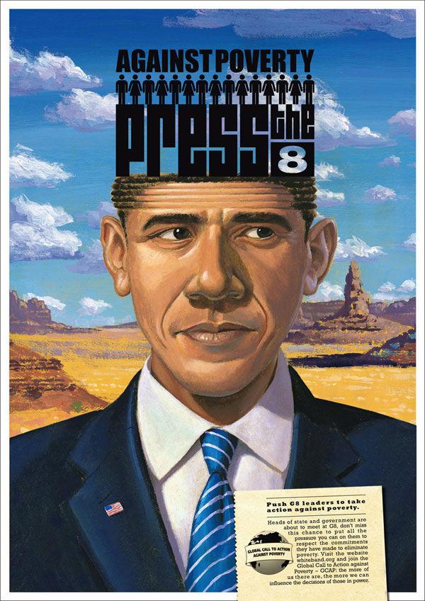 pub Barack Obama GCAP