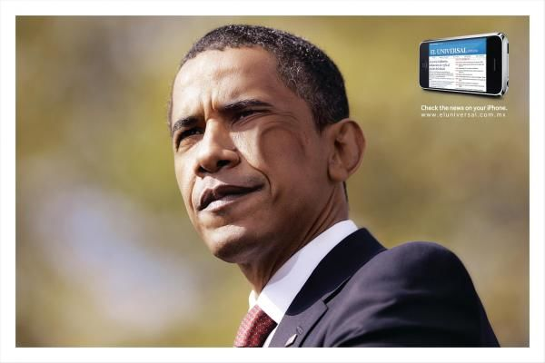 pub Barack Obama El Universal Newspaper