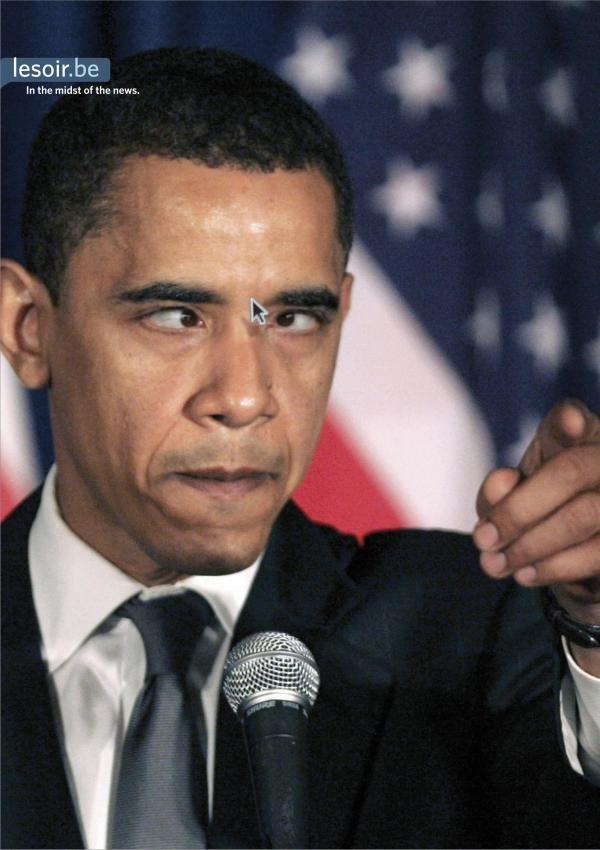 pub Barack Obama lesoir.be