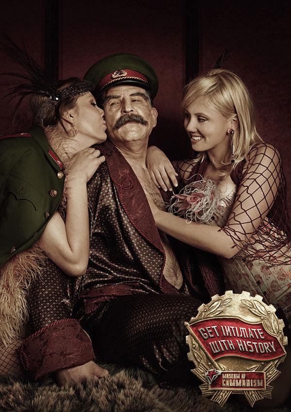 Pub Staline Musée du communisme