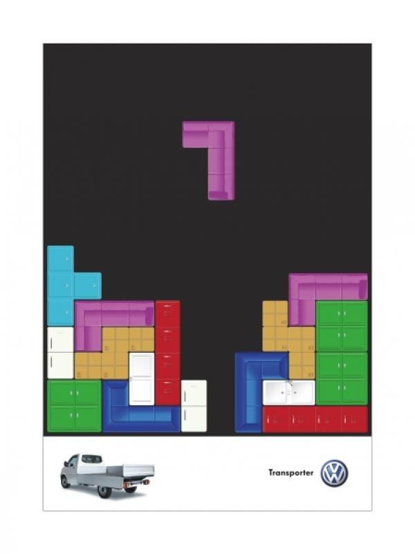 pub tetris Volkswagen