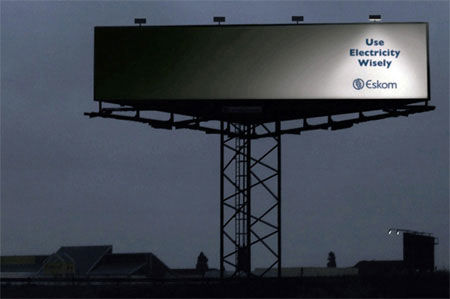eskom street marketing