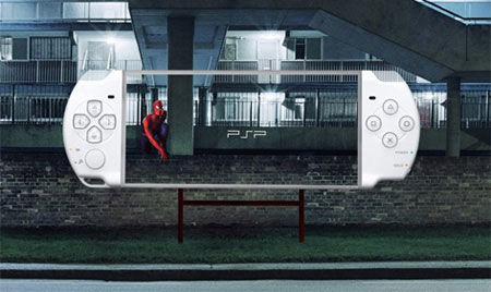 sony psp street marketing