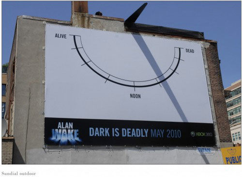 alan wake street marketing