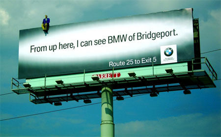 bmw street marketing