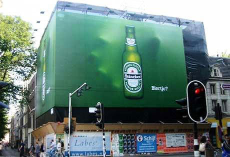 heineken street marketing