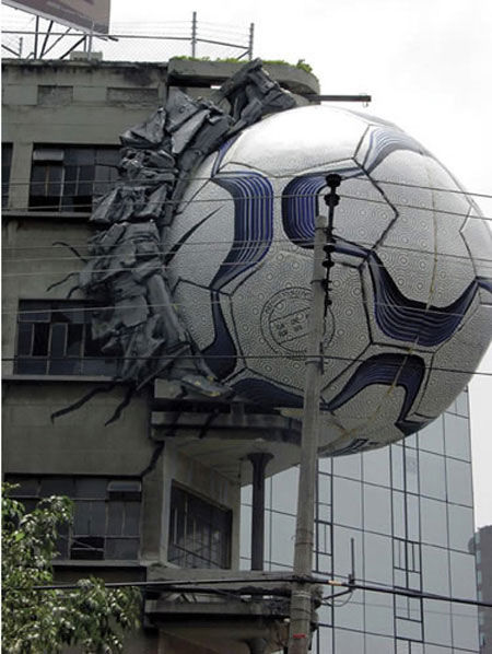nike football street marketing