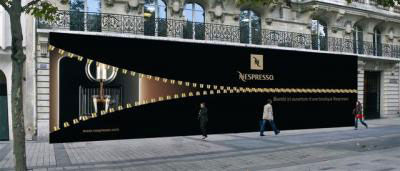 nespresso street marketing