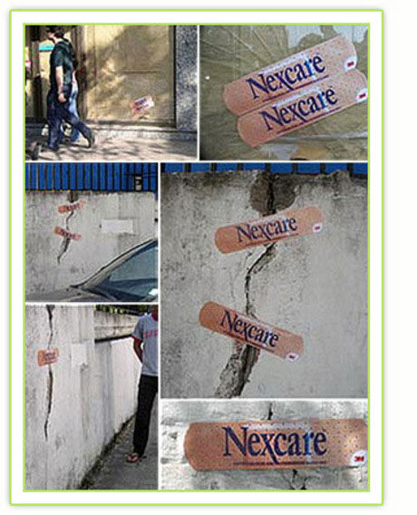 nexcare street marketing