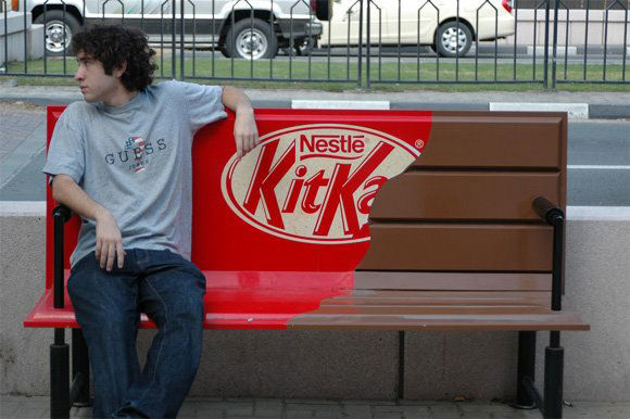 kit kat street marketing