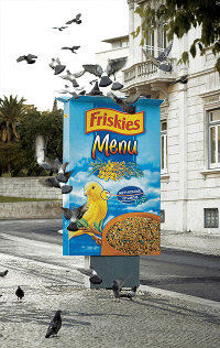 friskies street marketing