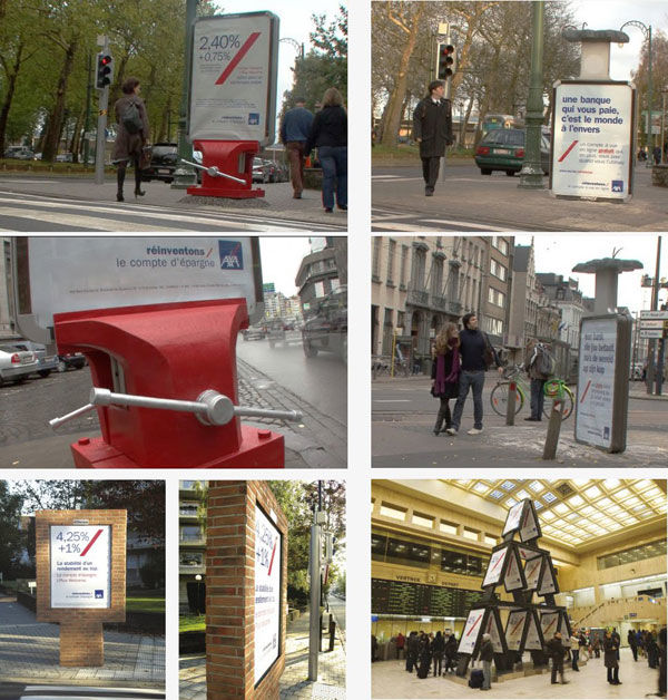 axa street marketing